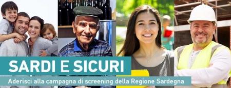 Campagna di screening Covid 19 'Sardi e Sicuri' - AVVISO IMPORTANTISSIMO